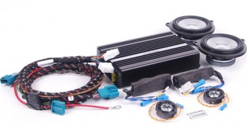 BMW E90 3 Serisi  Alpine Ses Sistemi Donanımı
