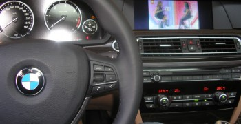 BMW F10 Orjinal TV Tuner
